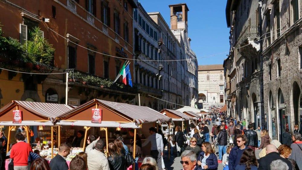 Fiera dei Morti a Perugia
