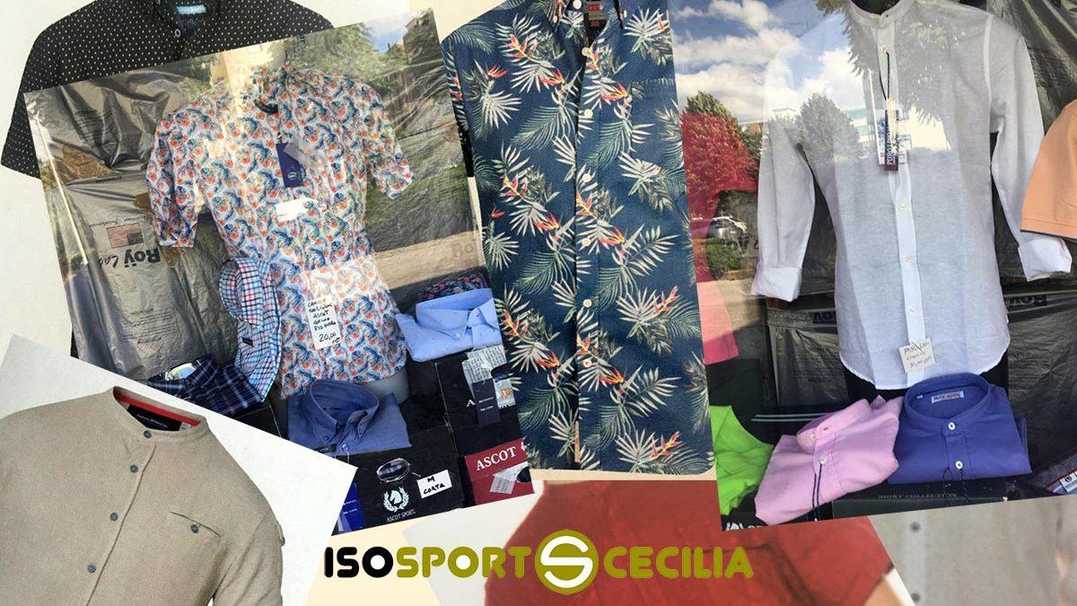 Camicie da uomo corte e lunghe in puro lino e puro cotone