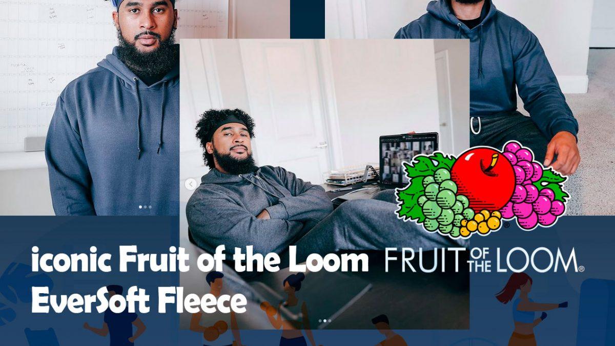 iconic Fruit of the Loom EverSoft Fleece